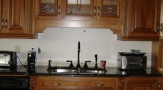 Custom Wood Cabinetry